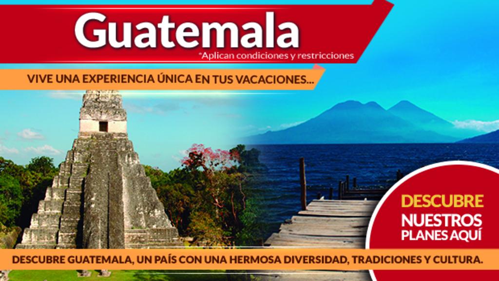 Planes a Guatemala