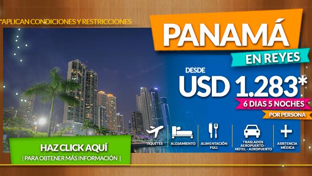 Vacaciones en Panamá con todo incluido