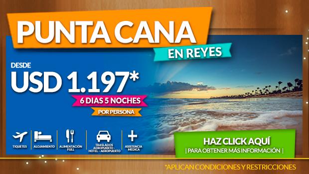 Planes a Punta Cana con todo incluido