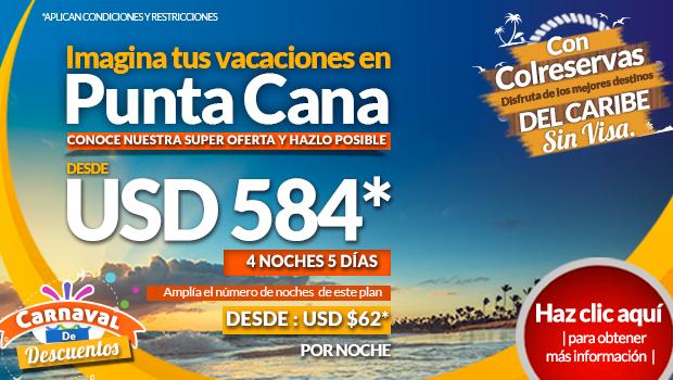 Punta Cana Destino del Mes