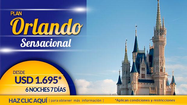 Planes a Orlando