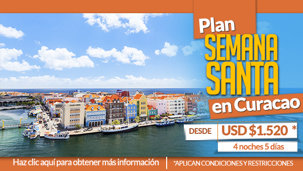 Planes a Curacao en Semana Santa