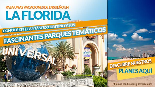 Planes a La Florida. Disfruta de Orlando y Miami.